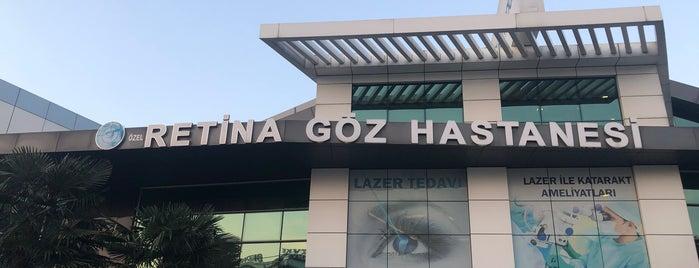 Özel Retina Göz Hastanesi is one of Erkan'ın Beğendiği Mekanlar.