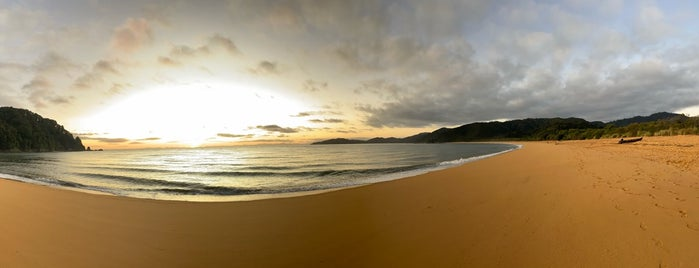 Abel Tasman National Park is one of NZ to go.