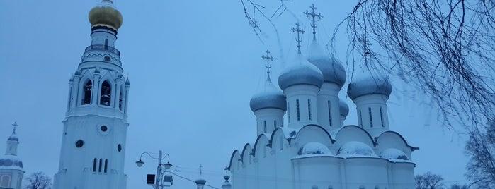 Вологодский кремль is one of Макс : понравившиеся места.