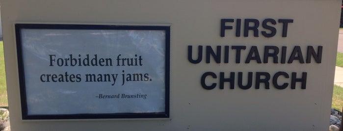 First Unitarian Church of Dallas is one of Lugares favoritos de David.