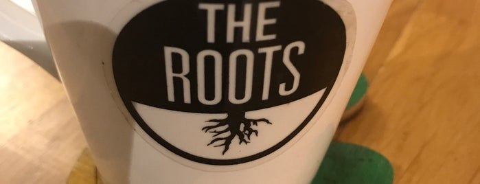 The Roots Cafe is one of Orte, die Sude gefallen.