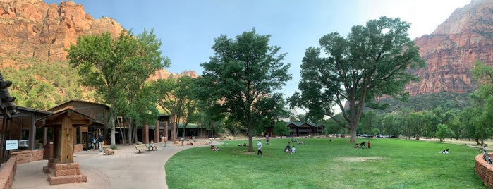 Zion Lodge is one of FamilyFun's Zion National Park.