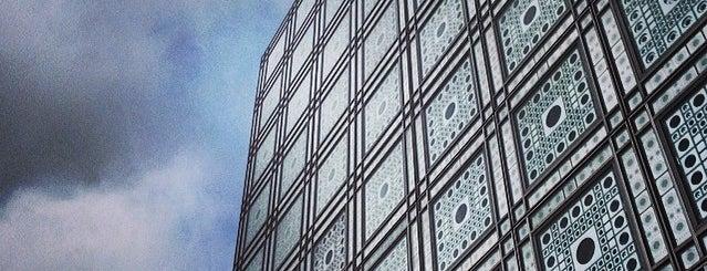 Institut du Monde Arabe is one of Paris.