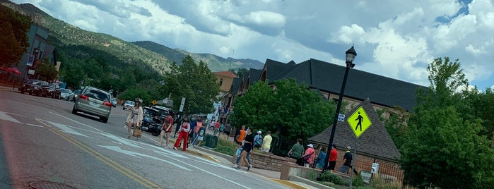 City of Manitou Springs is one of Review.