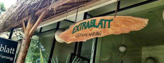 Extrablatt German Warung is one of Seminyak+.