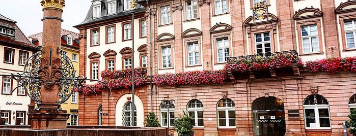 Marktplatz is one of Heidelberg!.
