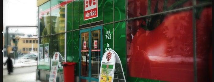 M-Market is one of Orte, die Juha gefallen.