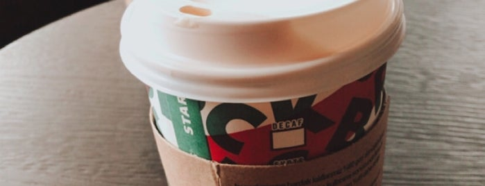Starbucks is one of Sezin 님이 좋아한 장소.