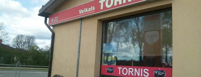 Veikals Tornis is one of Elza'nın Beğendiği Mekanlar.
