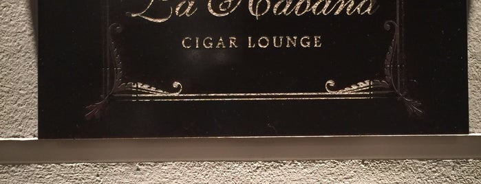 La Habana Cigar Lounge is one of Can.