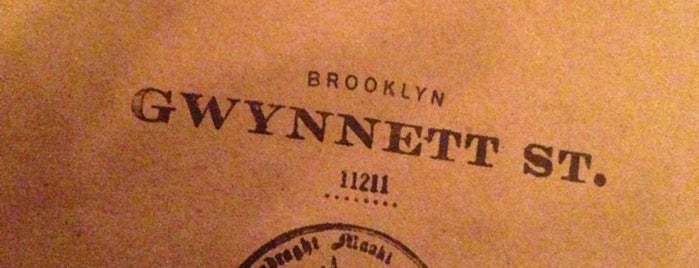 Gwynnett Street is one of places.