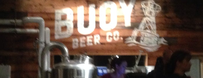 Buoy Beer Co. is one of Lugares favoritos de Jim.