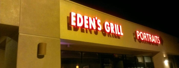 Eden's Grill is one of Chaney Xmas 2015.