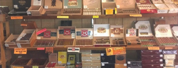 Hiland's Cigars is one of Shopping.