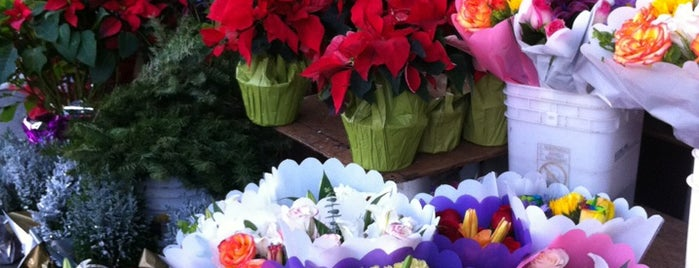 Los Angeles Flower Market is one of Holiday Favorites in Downtown LA.