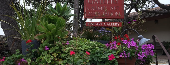 Carmel Art Association Gallery is one of Stevenson's Favorite Art Museums.