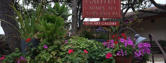 Carmel Art Association Gallery is one of My Loves.