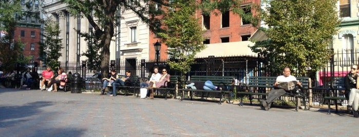 Petrosino Square is one of great outdoor meeting spots for a sunny day!.