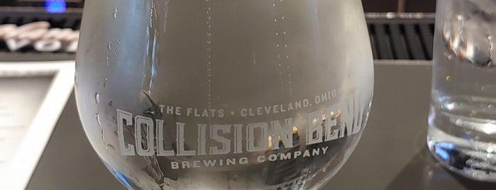 Collision Bend Brewing Company is one of Cleveland Brown Town.