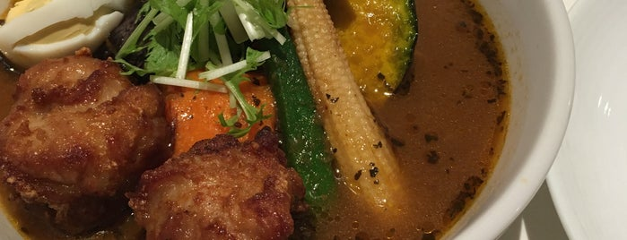 Suage is one of TOKYO-TOYO CURRY-5.