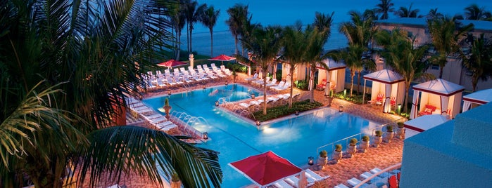 Acqualina Resort & Spa On The Beach is one of The Leading Hotels of the World'un Beğendiği Mekanlar.