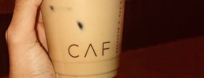 CAF Cafe is one of Posti che sono piaciuti a Nouf.