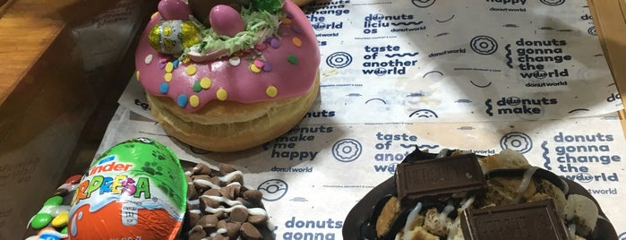 Donutworld is one of Torreon.