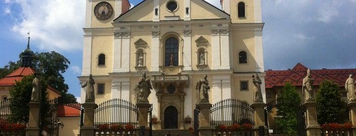 Kalwaria Zebrzydowska is one of UNESCO World Heritage Sites in Eastern Europe.
