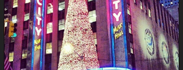 Radio City Music Hall is one of NYC Spots for Out of Towners.