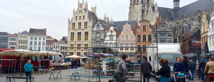 Zaterdagmarkt Mechelen is one of Olena's Liked Places.