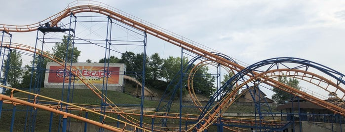 The Steamin' Demon is one of ROLLER COASTERS.