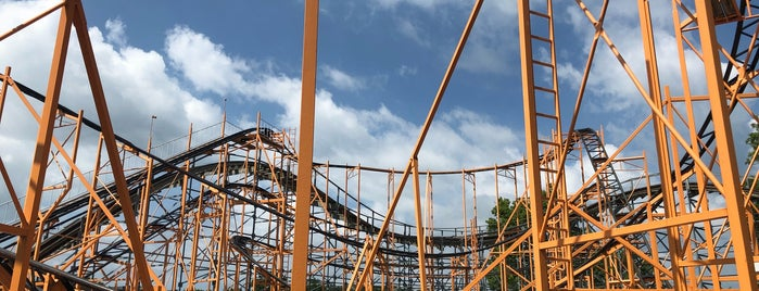 Tig'rr is one of Rollercoasters I've Conquered.