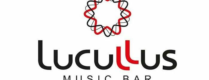 Lucullus is one of Tempat yang Disimpan Ryan.