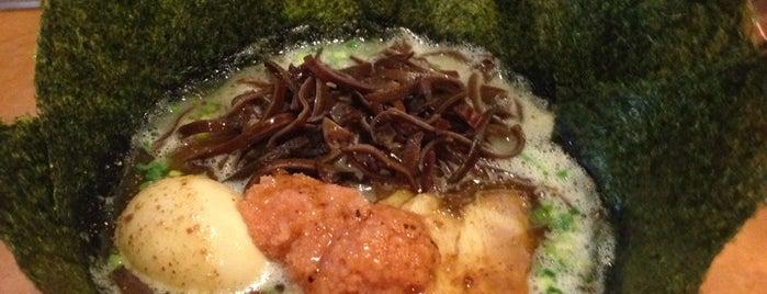九州豚骨ラーメン 柳屋 is one of สถานที่ที่บันทึกไว้ของ Hide.