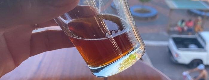 Santa Cruz Brewery is one of Ecuador.