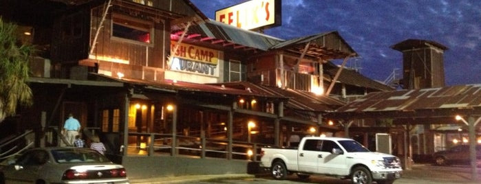 Felix's Fish Camp Grill is one of Adventures in Dining: USA!.