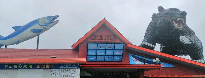 網元感動市場 かに御殿 is one of สถานที่ที่ ねうとん ถูกใจ.