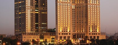 Fairmont Nile City is one of EGYPT.