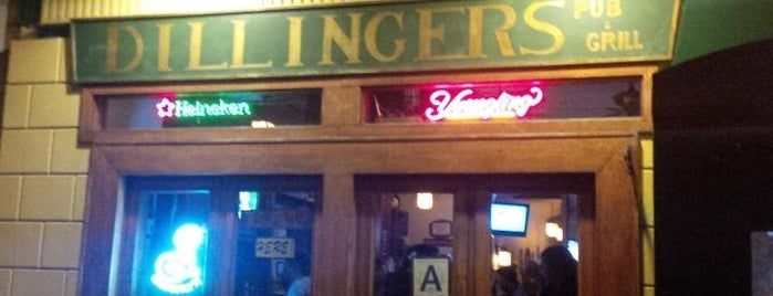 Dillingers Pub & Grill is one of The favorites.