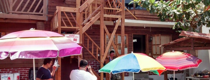 "Cabañas ""Paraíso azul"" is one of Tempat yang Disukai Guadalupe."
