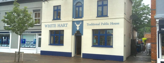 The White Hart is one of Tempat yang Disukai Carl.