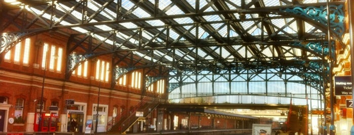 Bournemouth Railway Station (BMH) is one of Bournemouth Places To Visit.