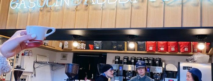 Gasoline Alley Coffee is one of Lieux qui ont plu à David.