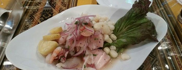 ペルー南米酒場 ワンチャコ HUANCHACO is one of ウーバーイーツで食べたみせ.
