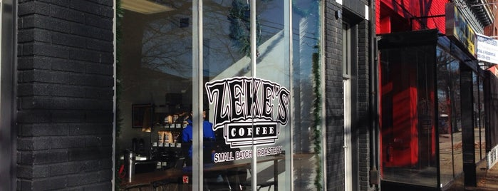 Zeke's Coffee is one of DC/VA.