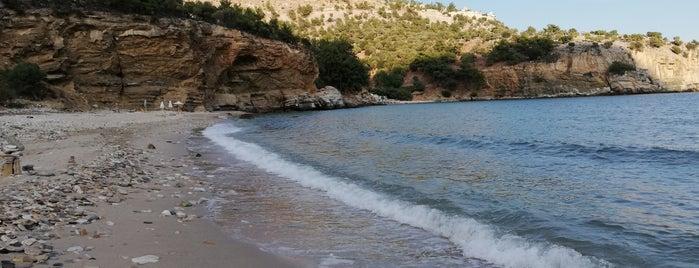 Arsanas Beach is one of Thassos.