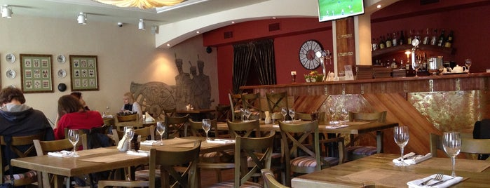Pushka Inn Hotel & Restaurant is one of Tempat yang Disukai Alisa.