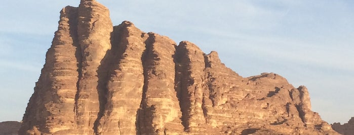 Wadi Rum Protected Area is one of The World Outside of NYC and London.