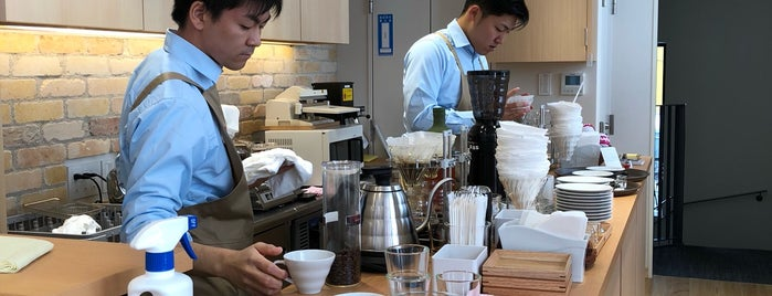 HARIO V60 Cafe is one of Tokyo.