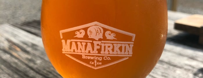 Manafirkin Brewing Co. is one of Orte, die Rachel gefallen.